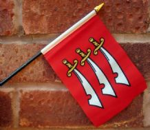 HAND WAVING FLAG (SMALL) - Essex